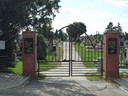 Vstup na hřbitov